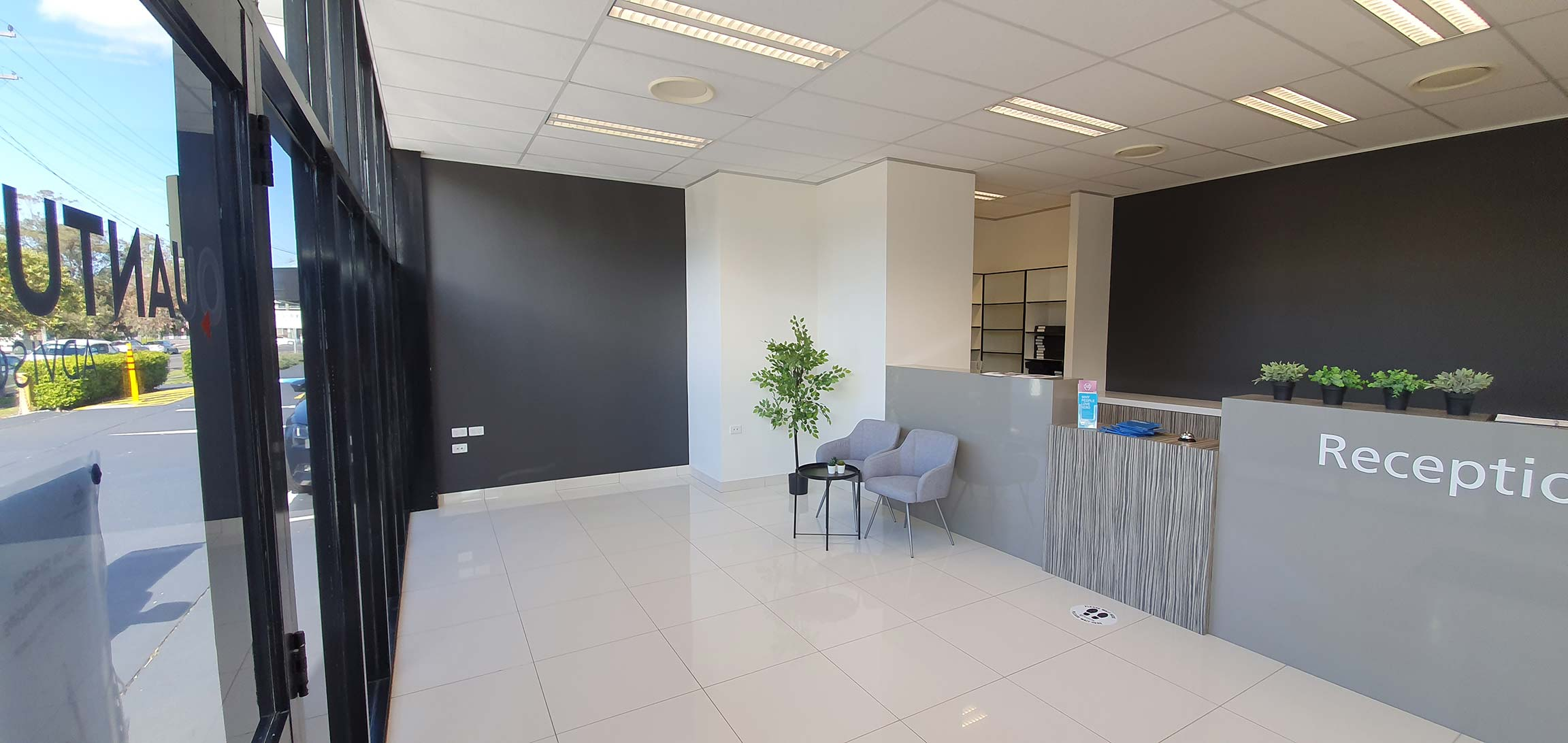 commercial office painting