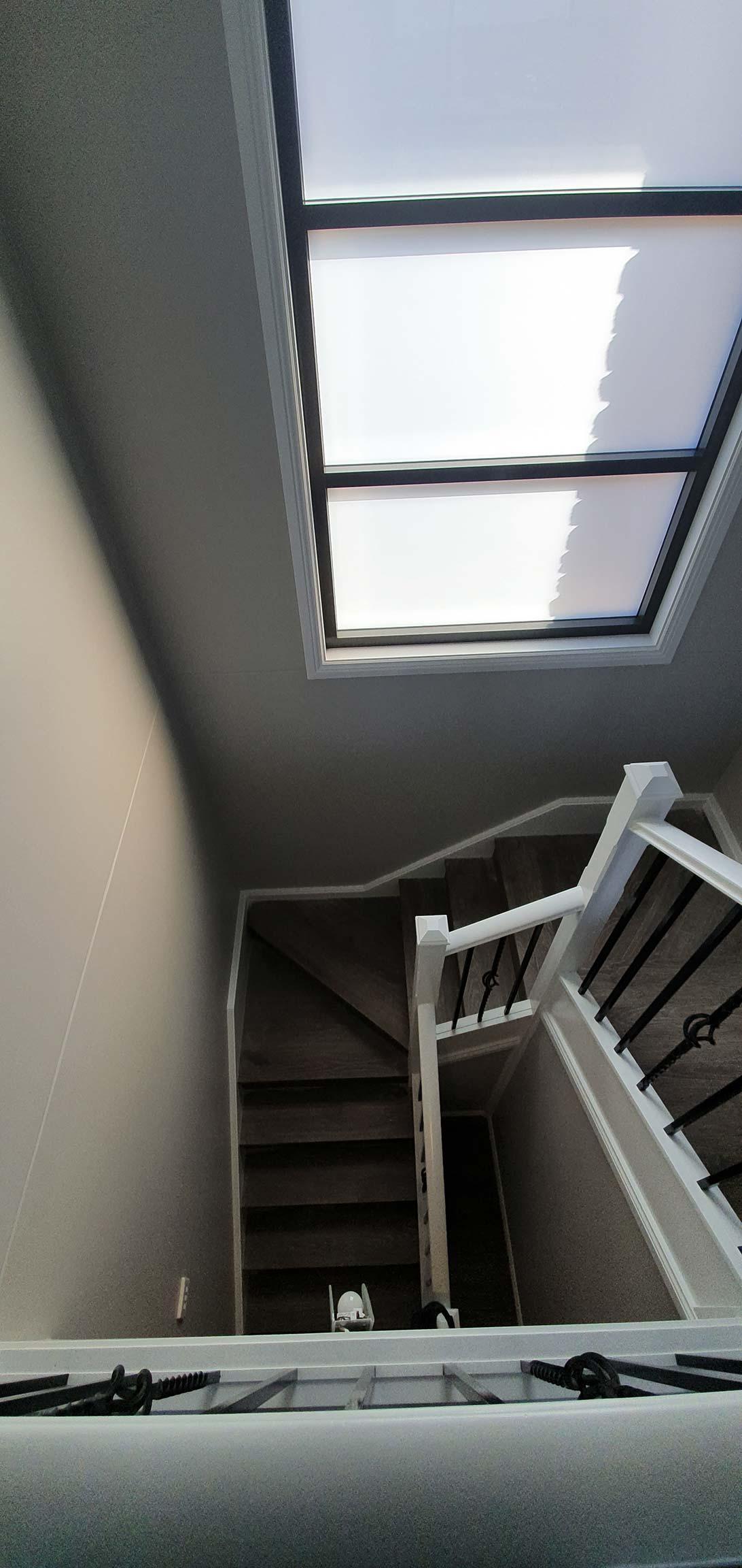 stairs - interior painting