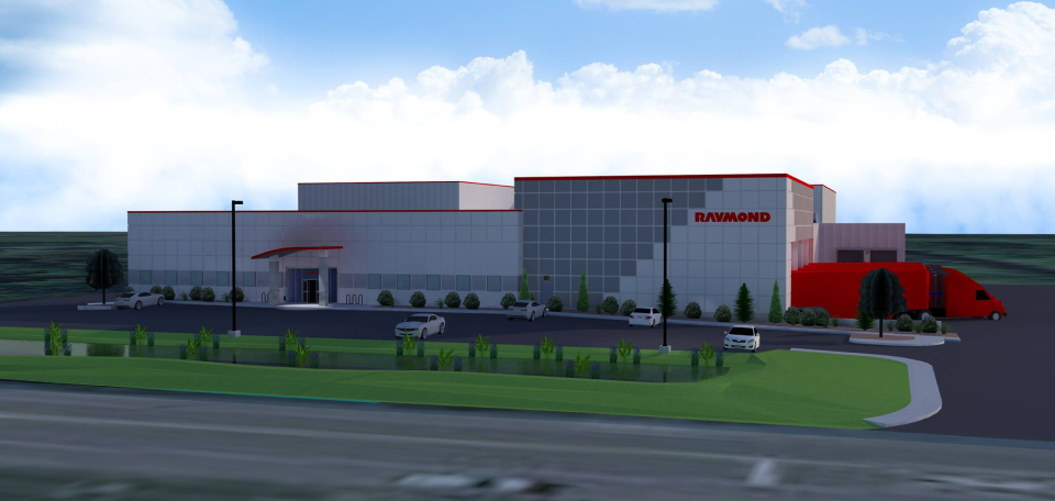 Facility Expansion for Raymond Corporation