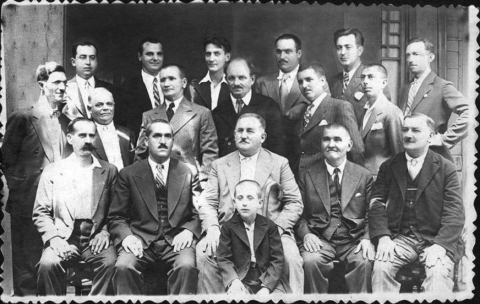 Майсторите сладкари в Русе 1925 година, снимка ДА-Русе