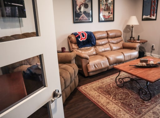 Family room addition