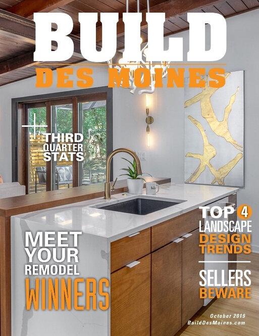Build Des Moines magazine Zenith's award.