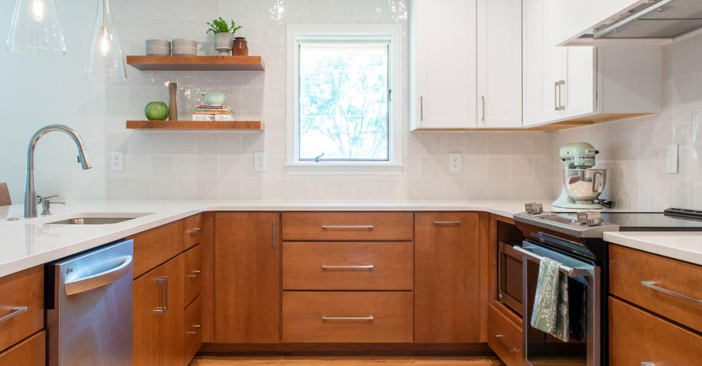 Kitchen of Zenith's client.