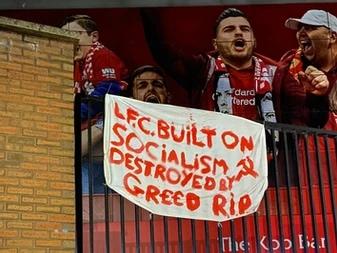 Voetbal hooligans van Liverpool