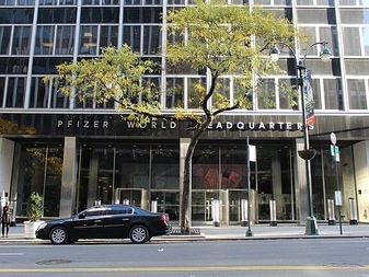 Pfizer World Headquarters. Manhattan, New York