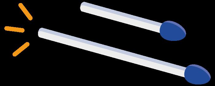 Streichholzentscheid bei der Gründung der Qlinker GmbH