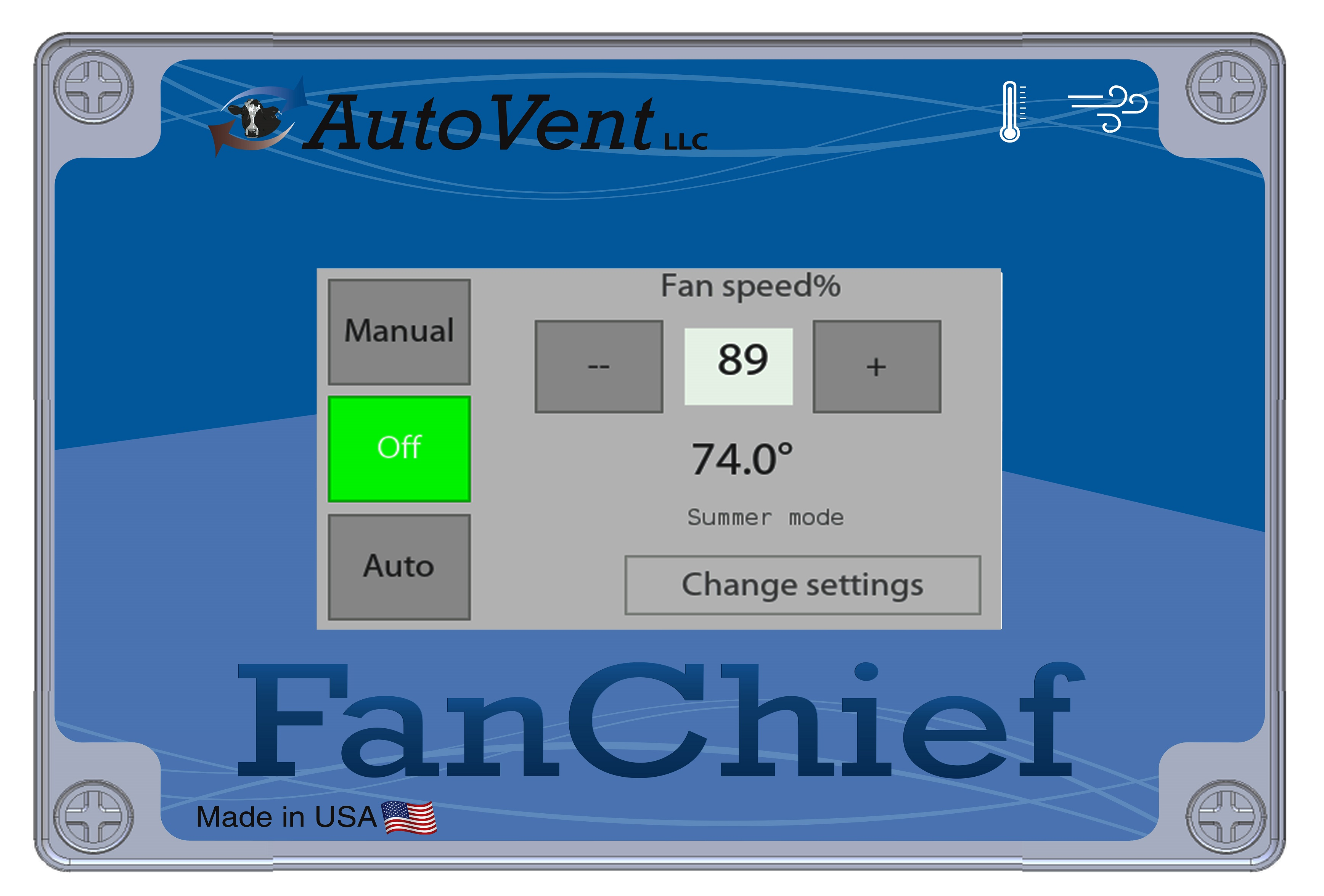 FanCheif Intelligent temperature controller for big ceiling fans