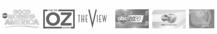 GMA, Dr. Oz, The View, ABC 2020, ABC 7 Chicago, Primetime Live