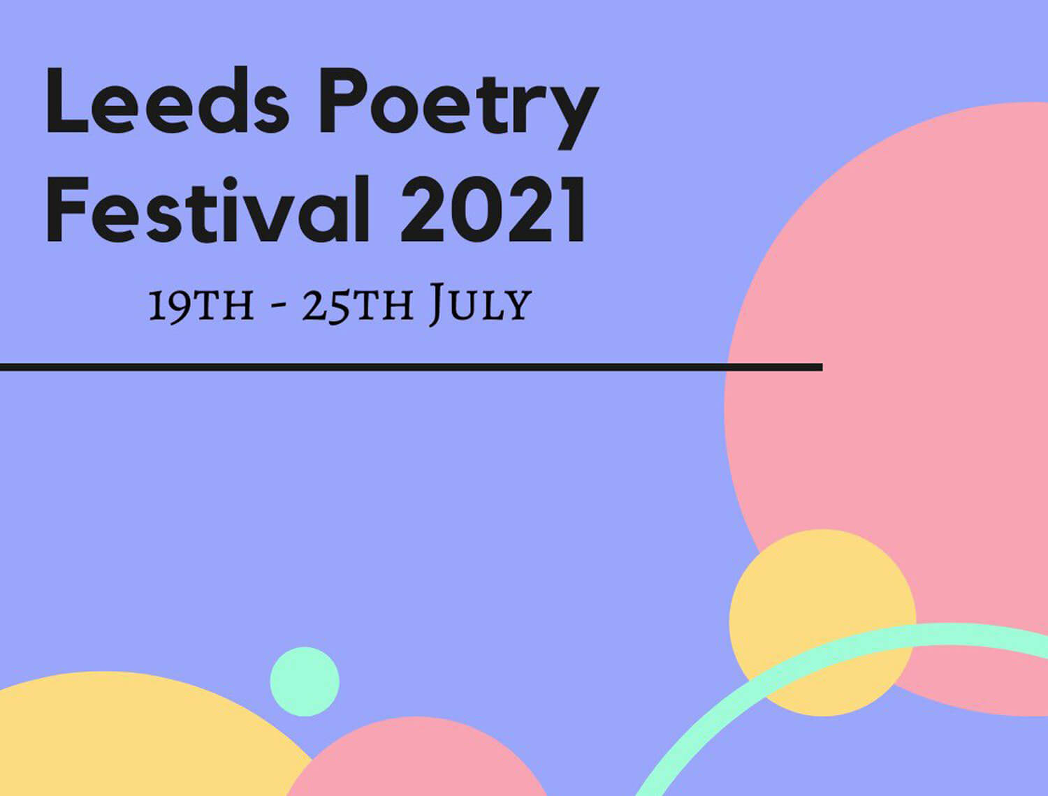 Friends of the Mill: Leeds Poetry Festival