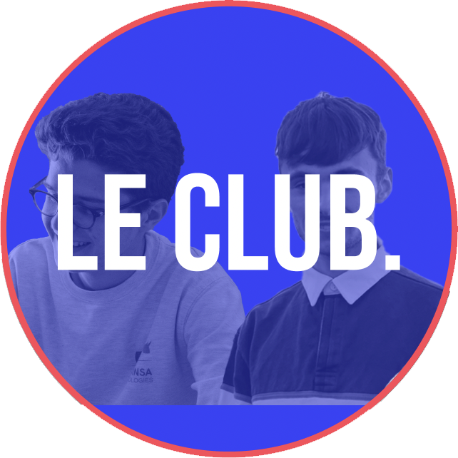 Photo de profil instagram du Club. Avec Grégoire Cambon et Arthur Dumoulin.