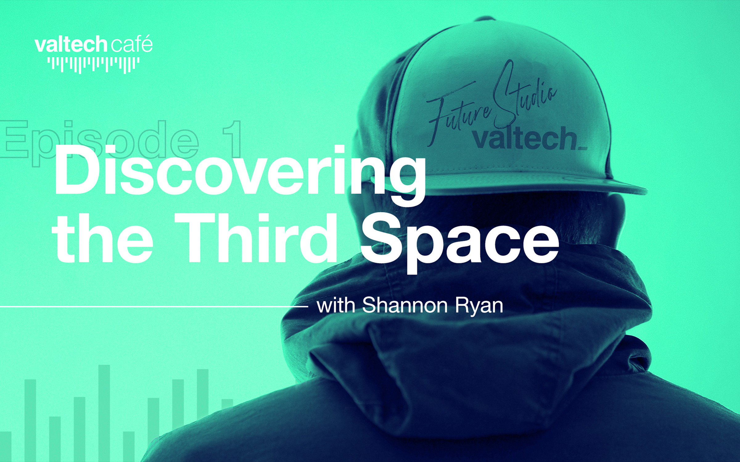 """Man wearing cap with words """"Episode 1 Discovering the Third space"""""""