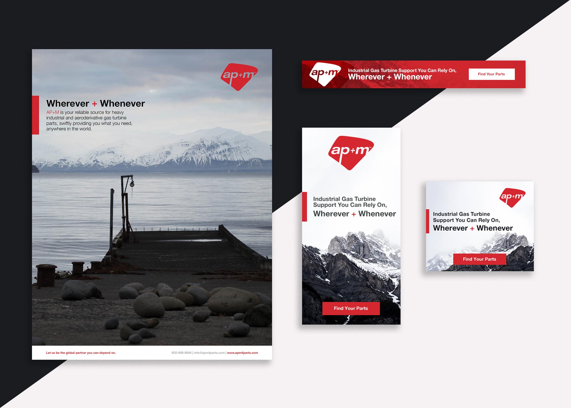 print and digital ads