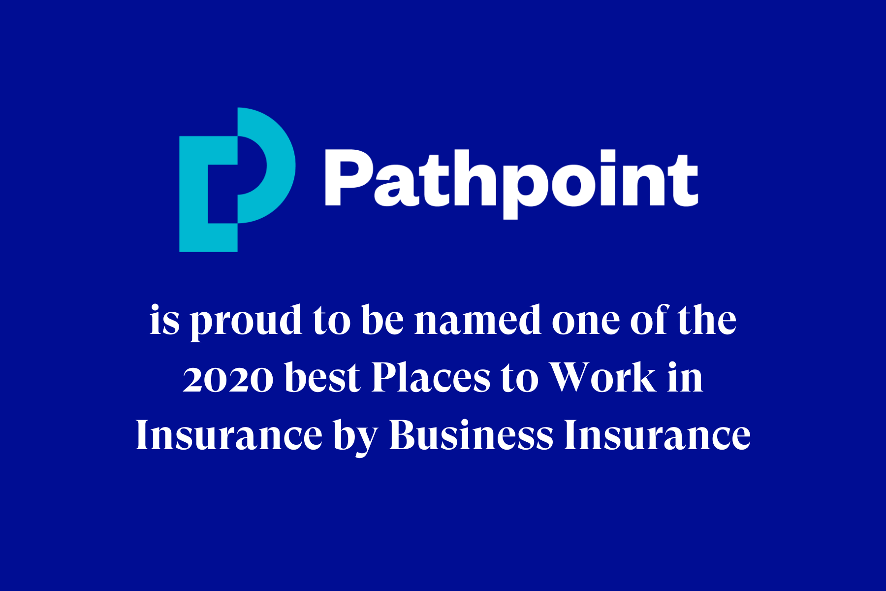 Pathpoint named one of the Best Places to Work in Insurance