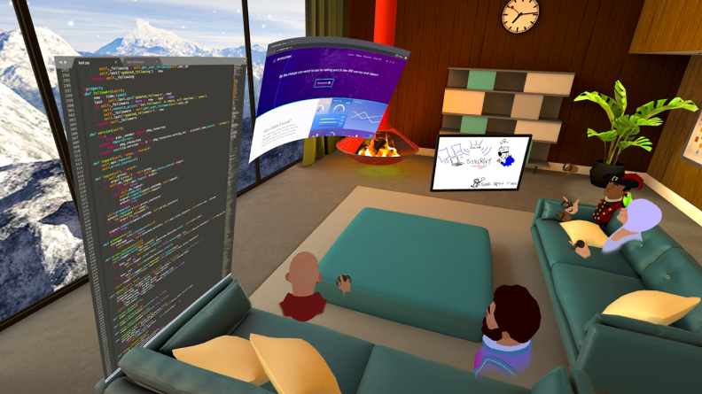 VR Screen Sharing in Immersed