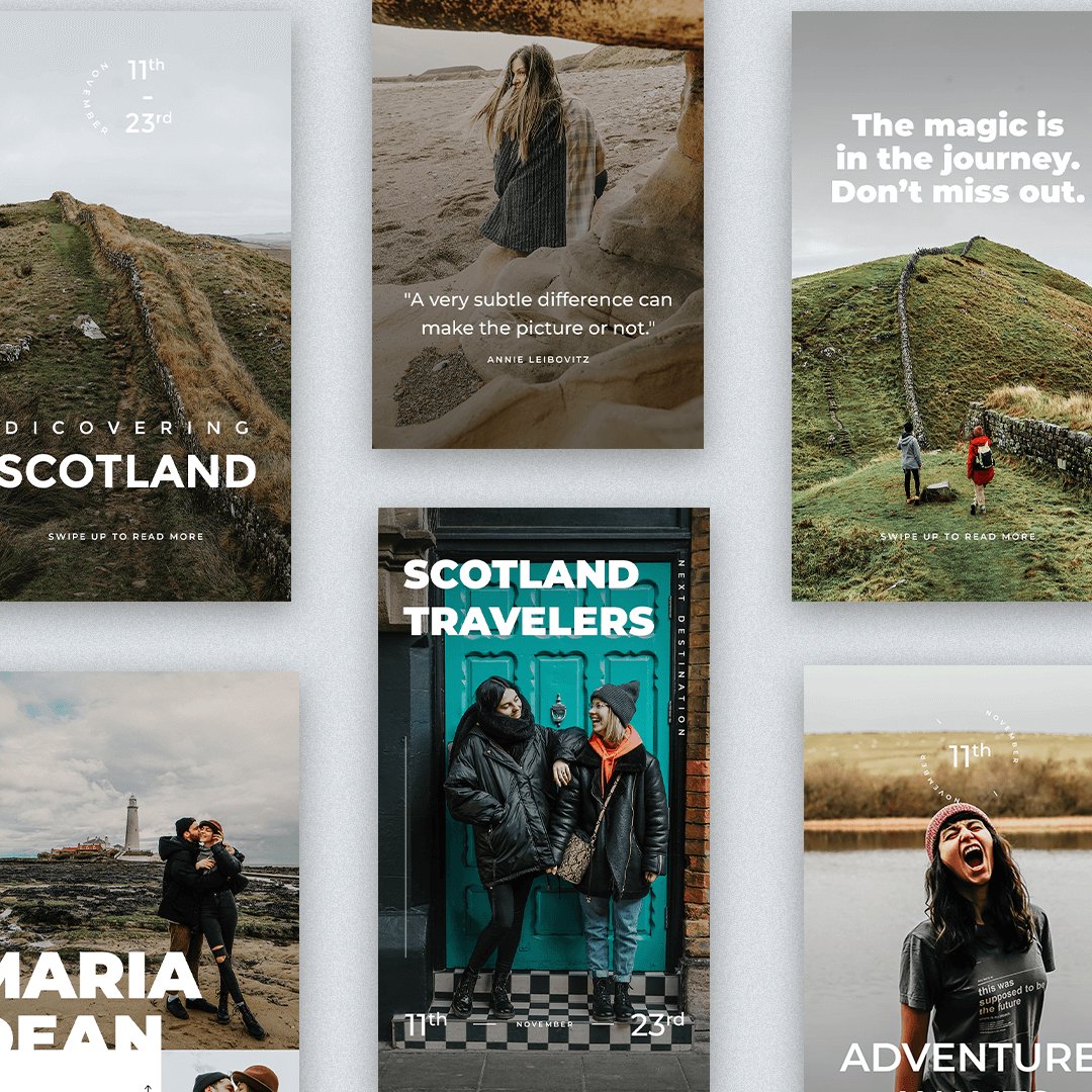 Scotland Instagram Stories Template