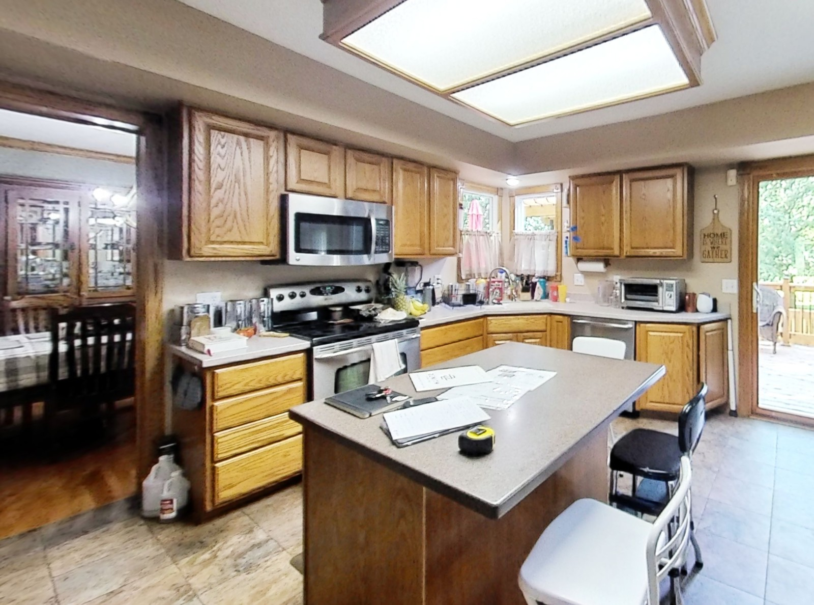 Johnston 90's Oak Overhaul Kitchen (before)