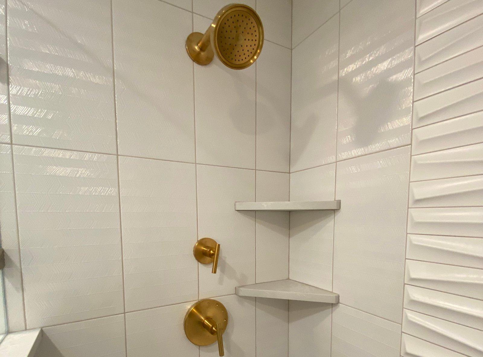 Beaverdale Master Bathroom Addition Basement (after)