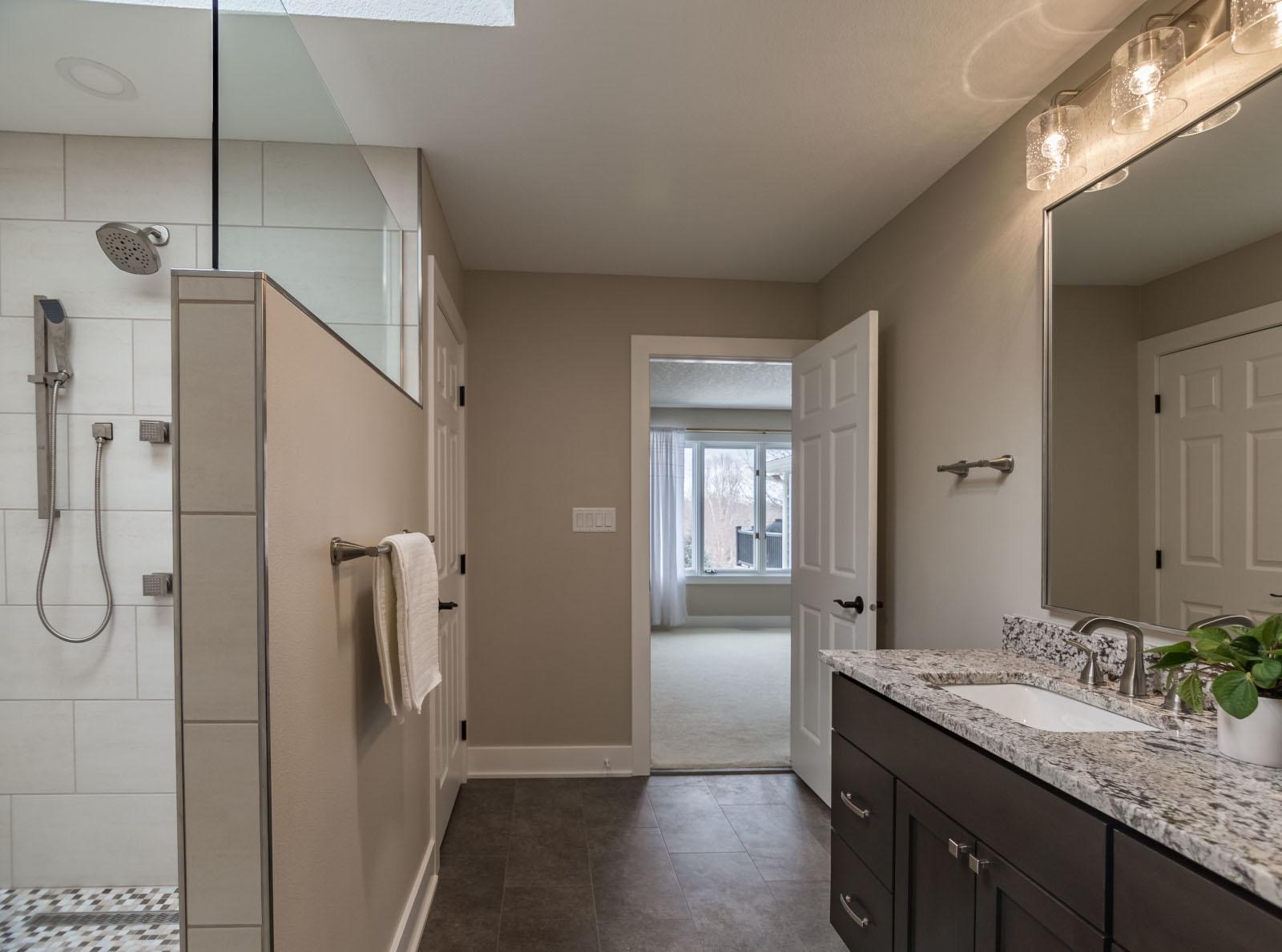 West Des Moines Master Bathroom Refresh (after)
