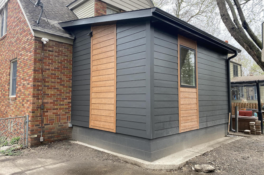 Bath and closet addition to Beaverdale home, review.
