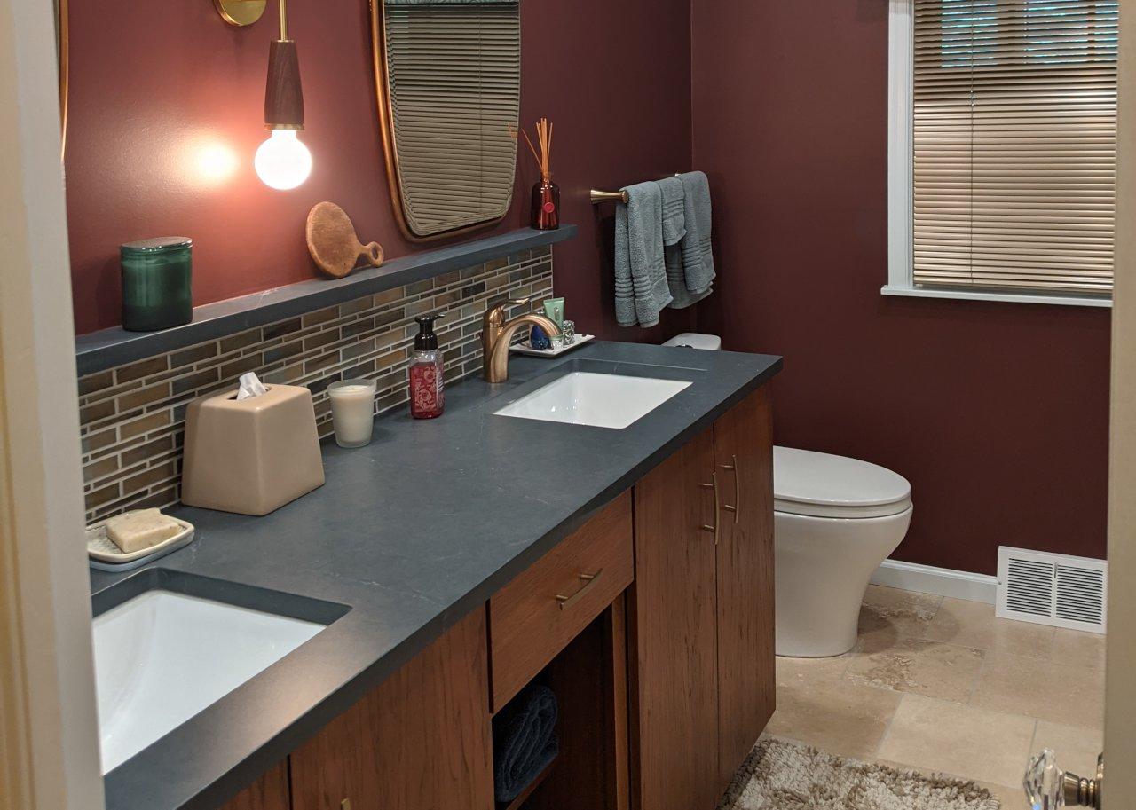 Lisa | Des Moines Bathroom Makeover