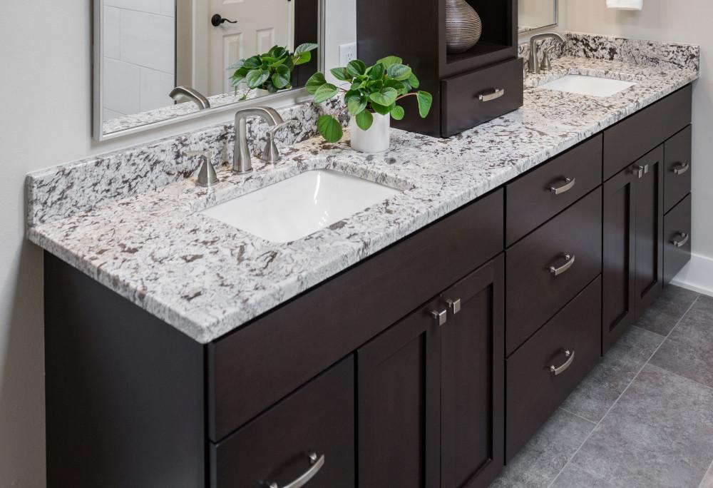 Steve + Pernilla | Total Bathroom Transformation in West Des Moines