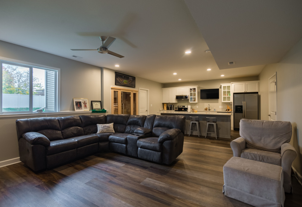 Adam + Tiffany | Waukee Basement Transformation