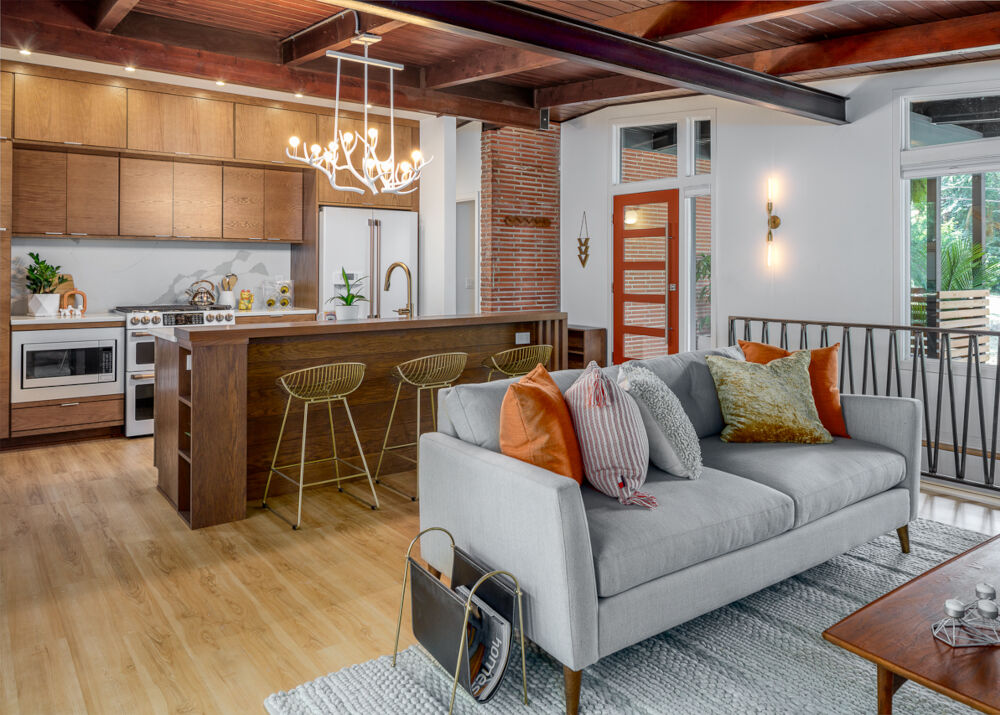 Zenith Design + Build | Des Moines Southside Mid-Century Modern Kitchen