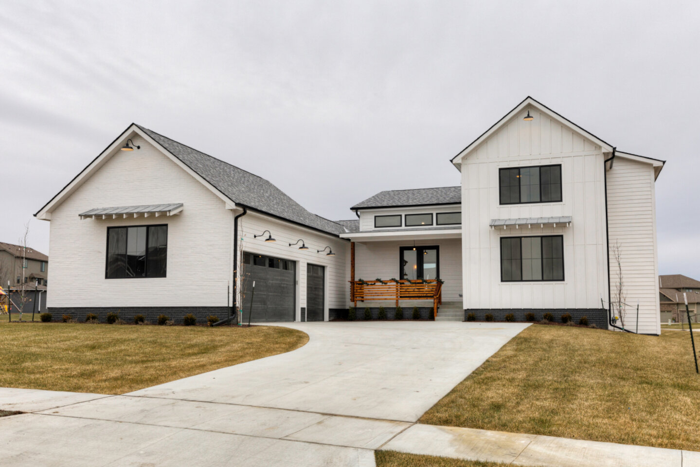 The Eleanor Custom Home - front yard.