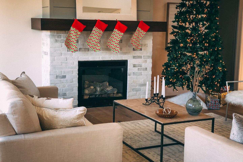 The Eleanor Custom Home - fireplace.