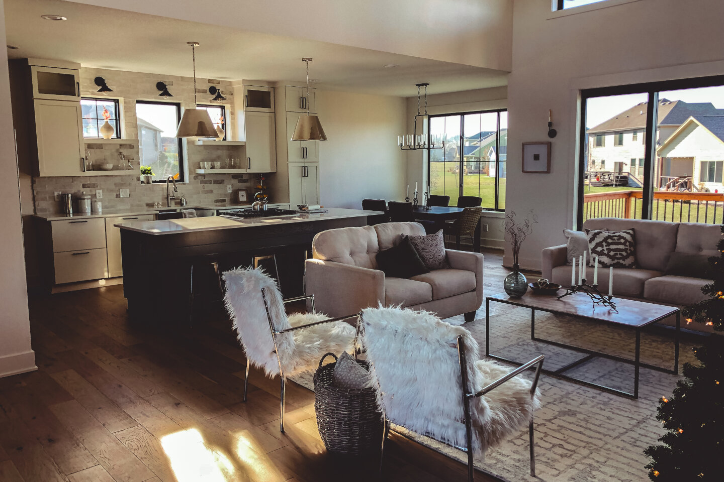 The Eleanor Custom Home - sofas and chairs.