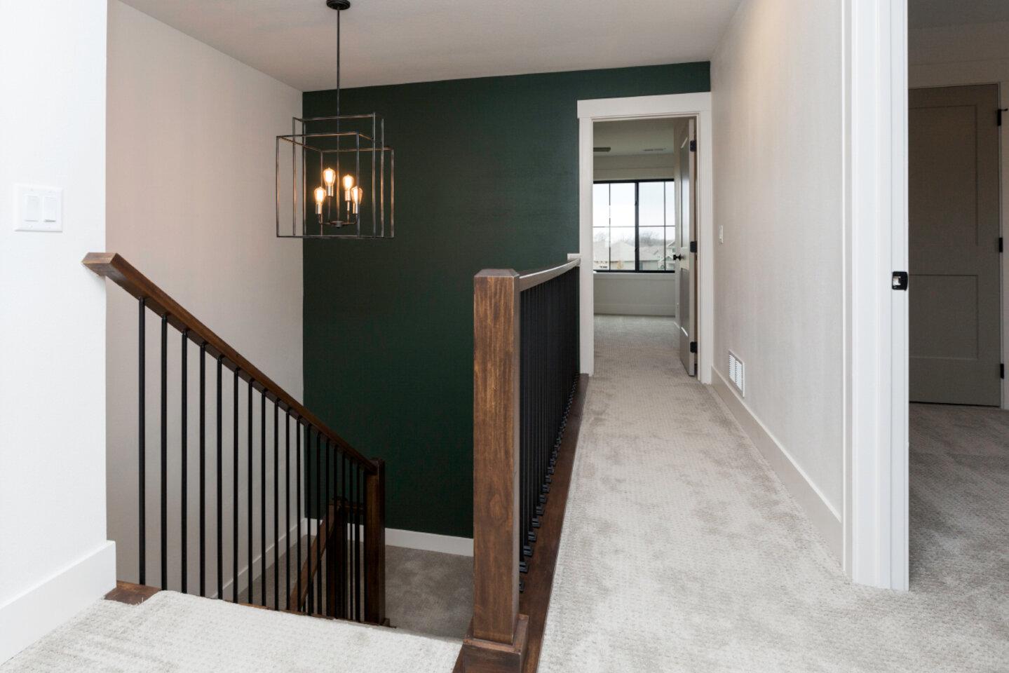 The Eleanor Custom Home - stair.