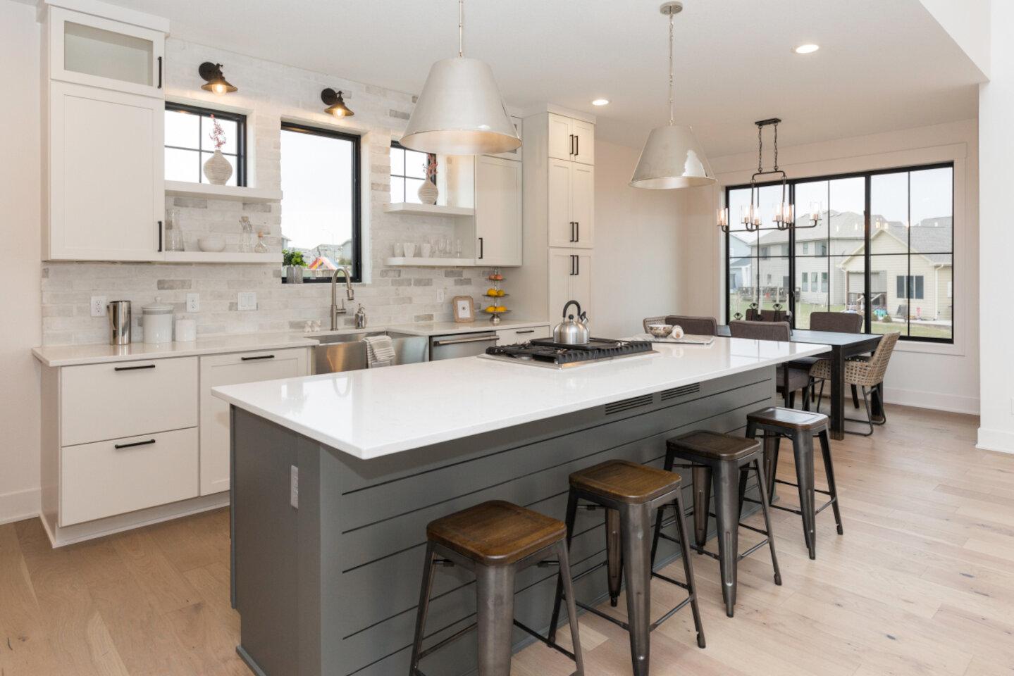 The Eleanor Custom Home - kitchen.
