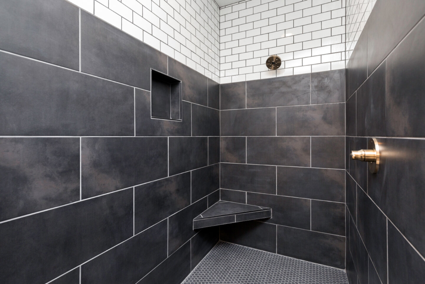 The Eleanor Custom Home - tile in bath.