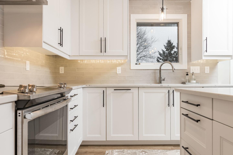 West Des Moines Kitchen After Transformation by Zenith Design+Build..