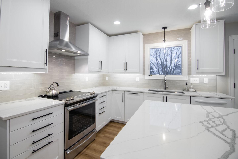 West Des Moines Kitchen After Transformation.