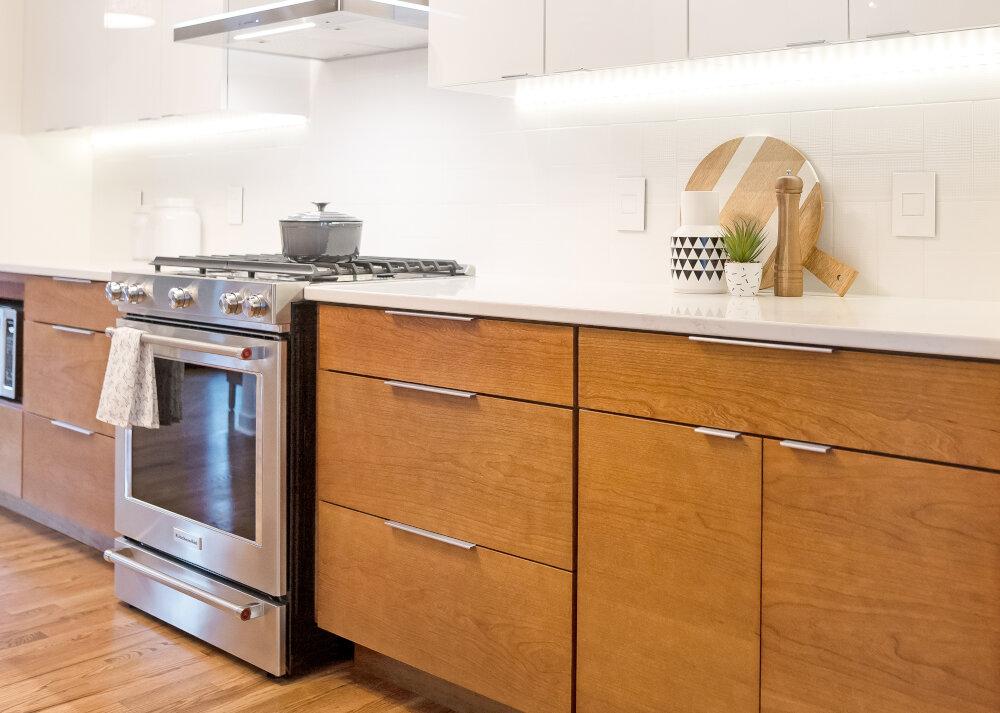 Deb + Dan | Modern Kitchen Makeover in Des Moines