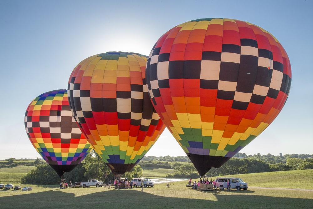 Hot Air Balloons at Indianola, Iowa