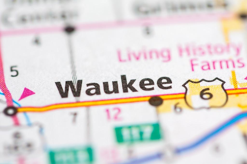 Waukee Iowa Map