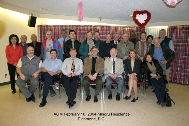 Picture gallery of annual general meetings.