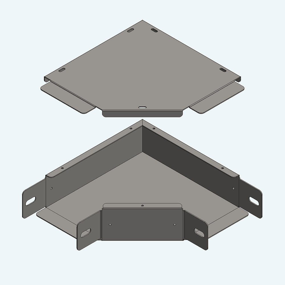 Trunking Elbow + Cover