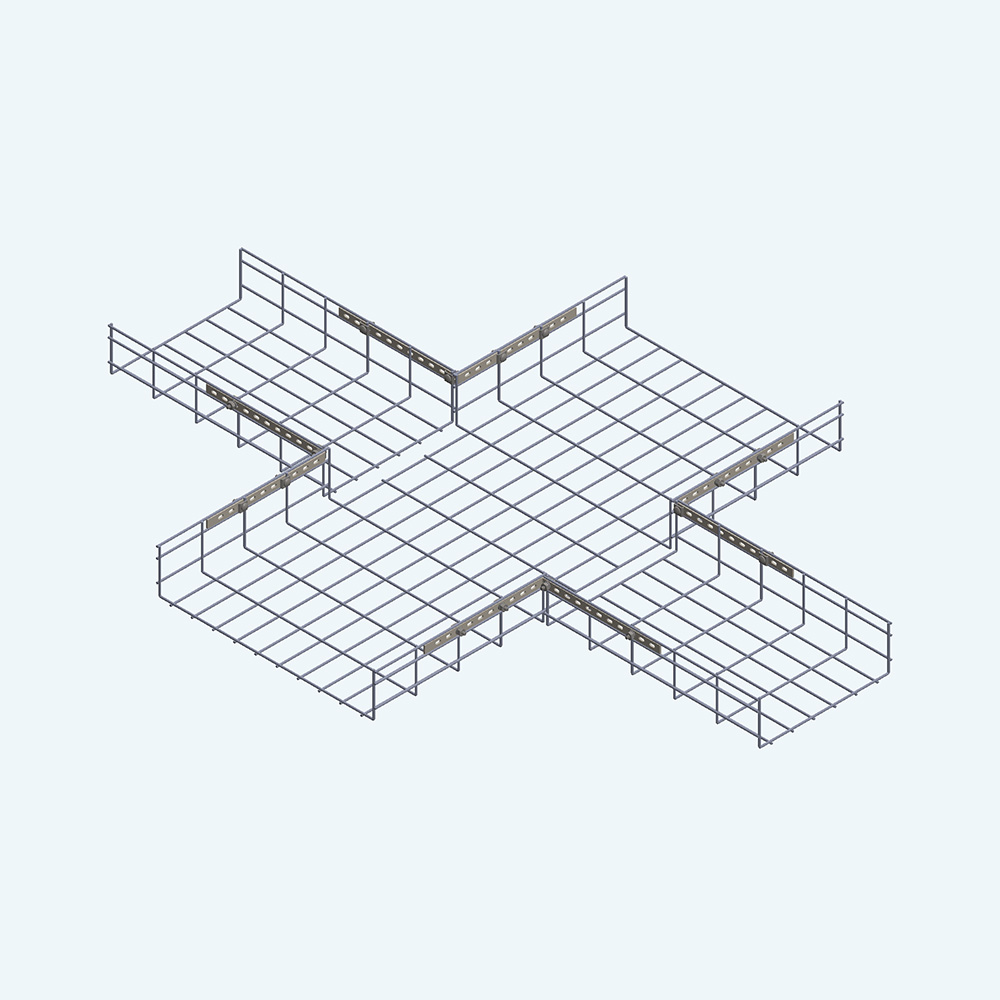 Wire Tray Unequal Cross