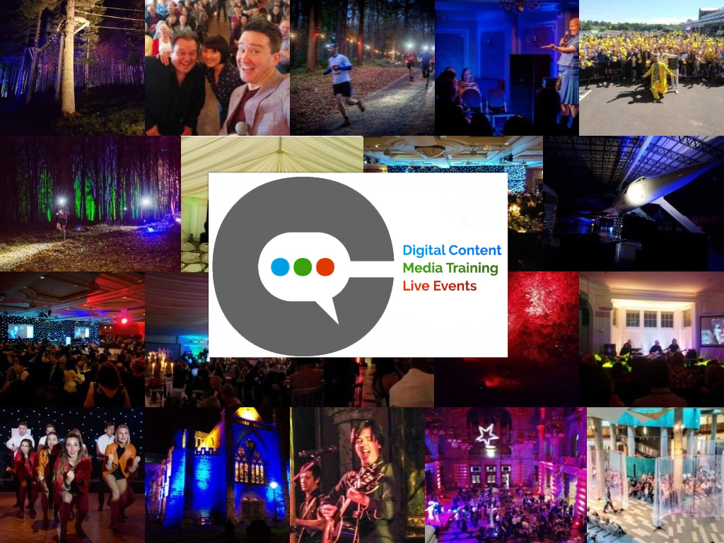Montage of Live Event Images With McKenna Group Logo at the Centre