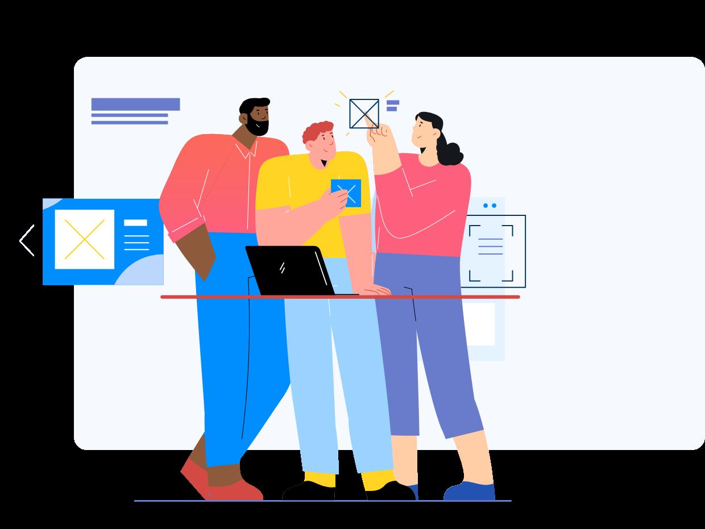 New hire integration illustration