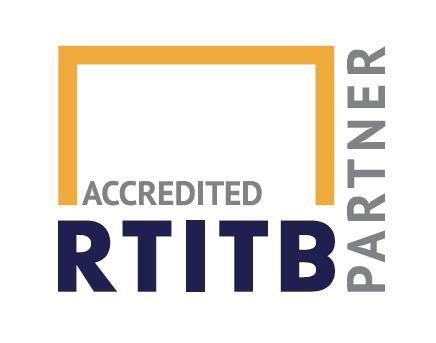 RTITB Accredited Partner Logo linking to RTITB.com website