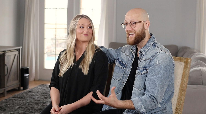 Image of a couple providing a testimonial