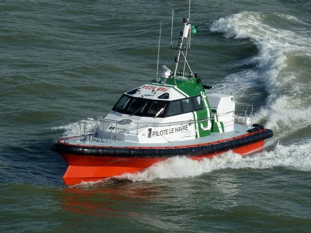 Bateau de la station de pilotage qui utilise Smart Sailors pour sa GMAO