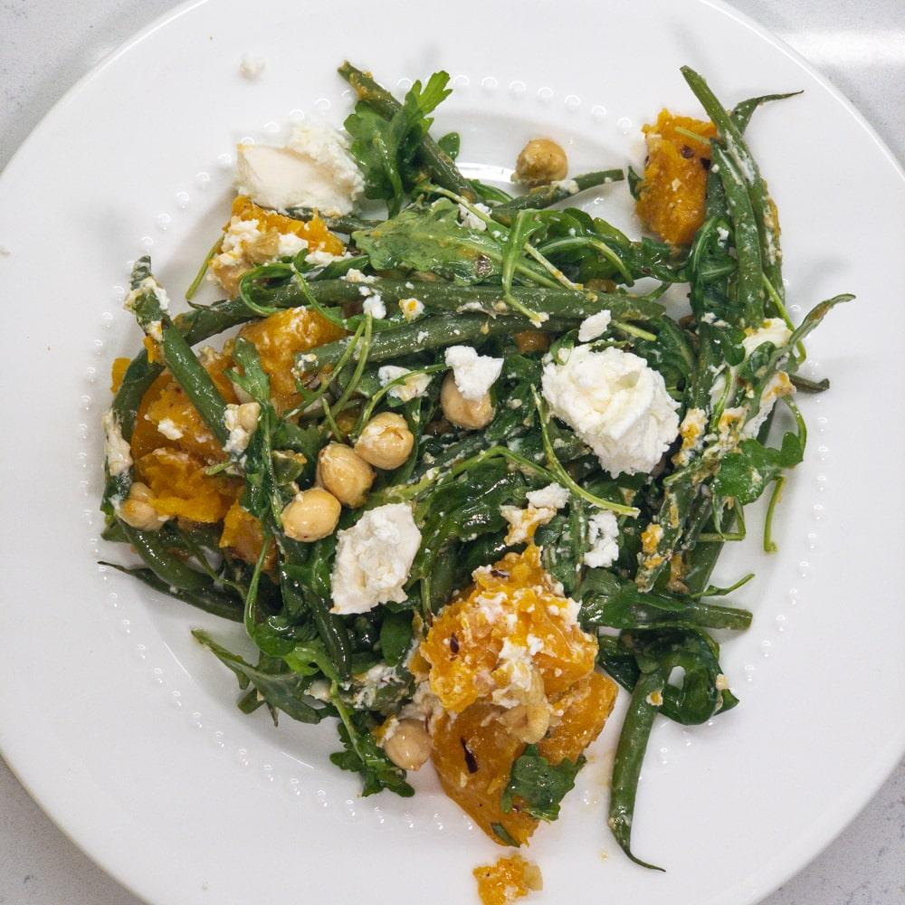 Butternut Squash & Hazelnut Salad
