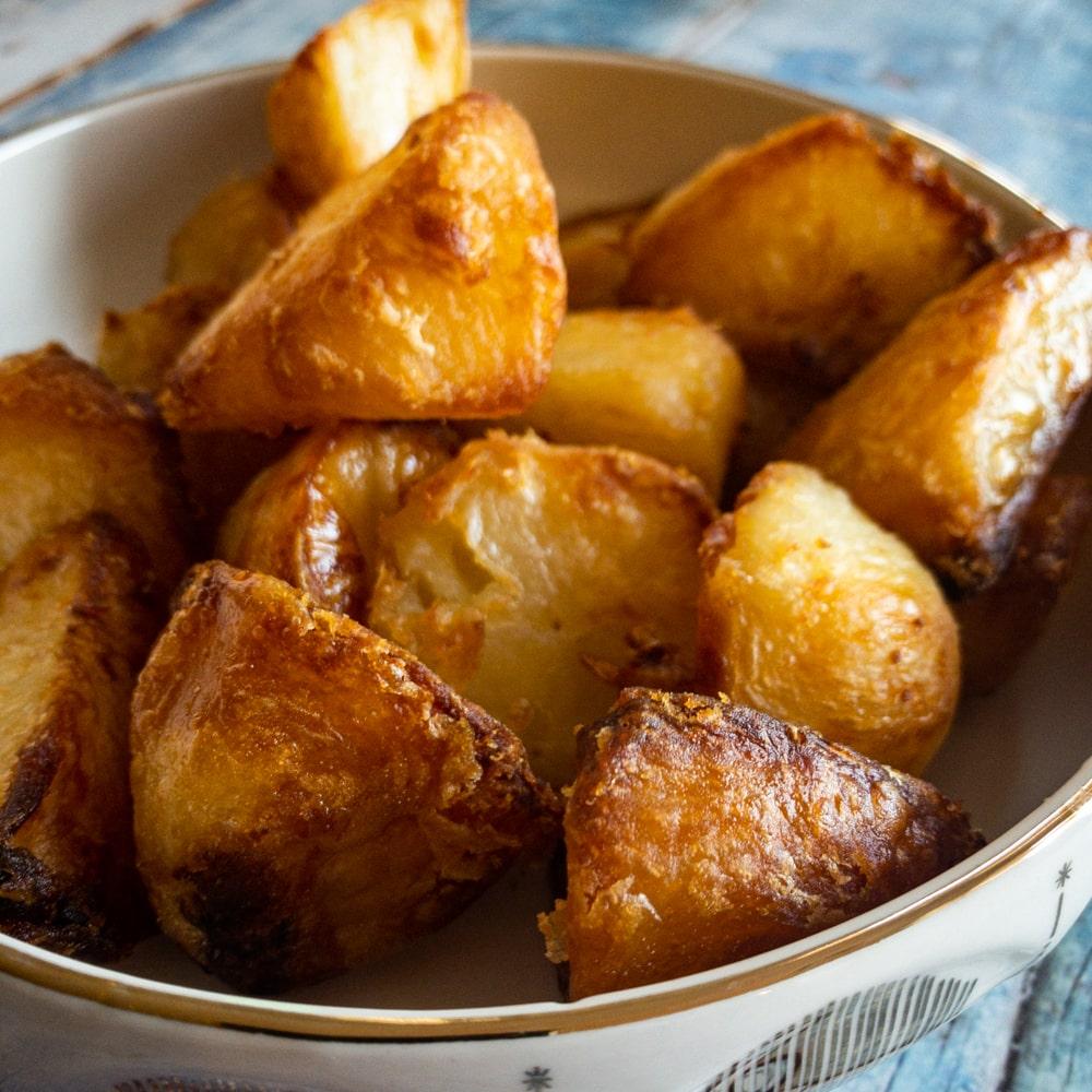 Crisp Yet Fluffy Roast Potatoes Every Time