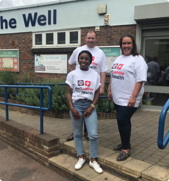 The Betknowmore UK team doing community outreach