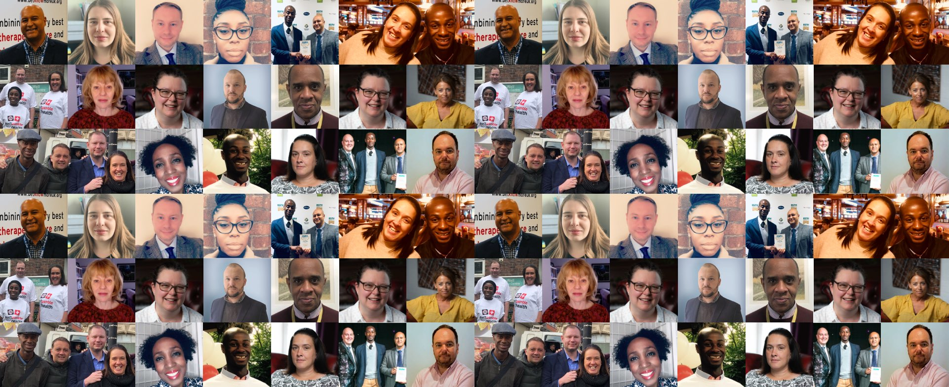 a collage of the Betknowmore UK team